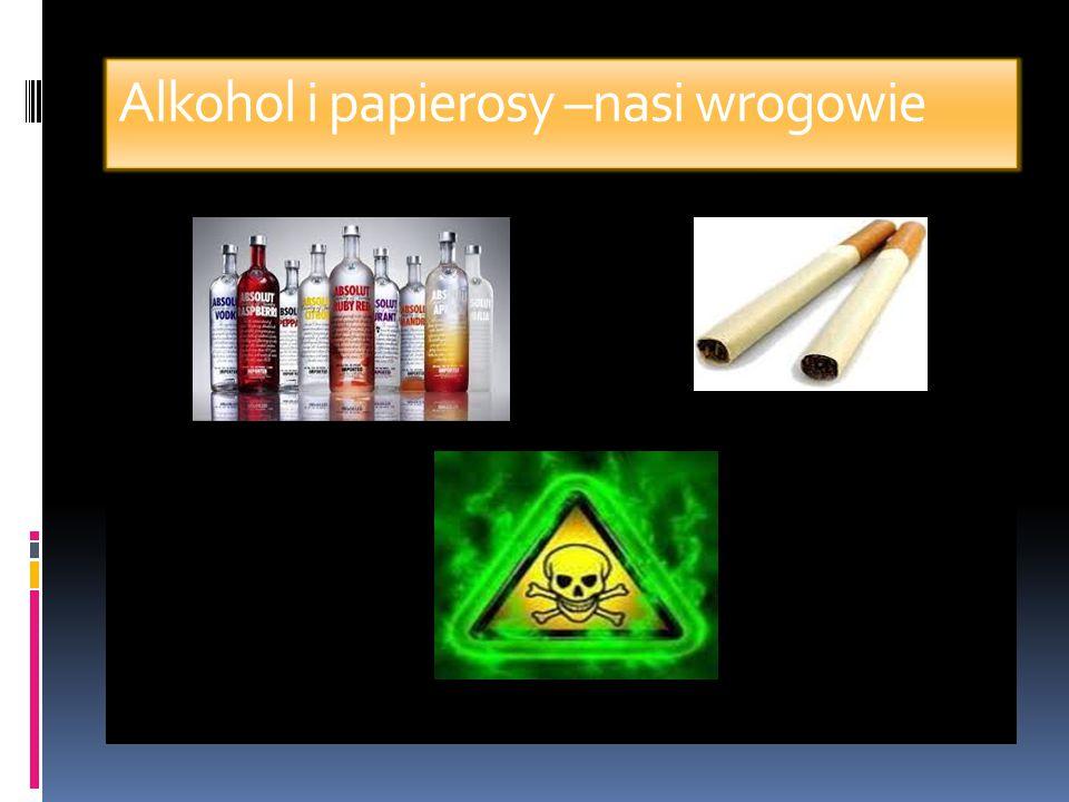 Alkohol i papierosy –nasi wrogowie