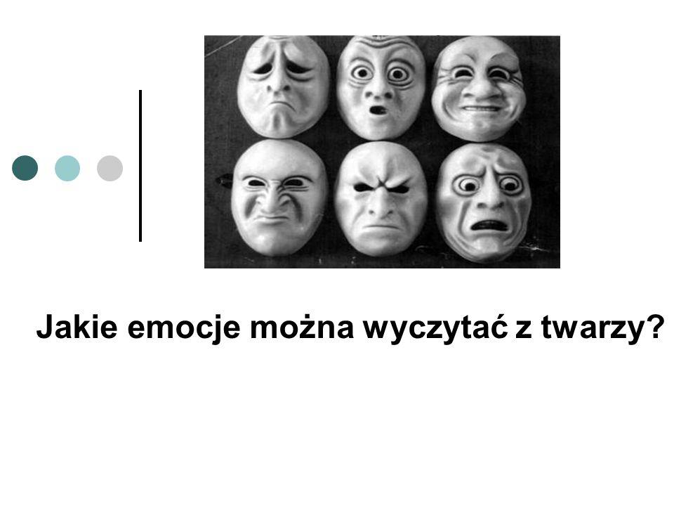 Jakie emocje można wyczytać z twarzy?