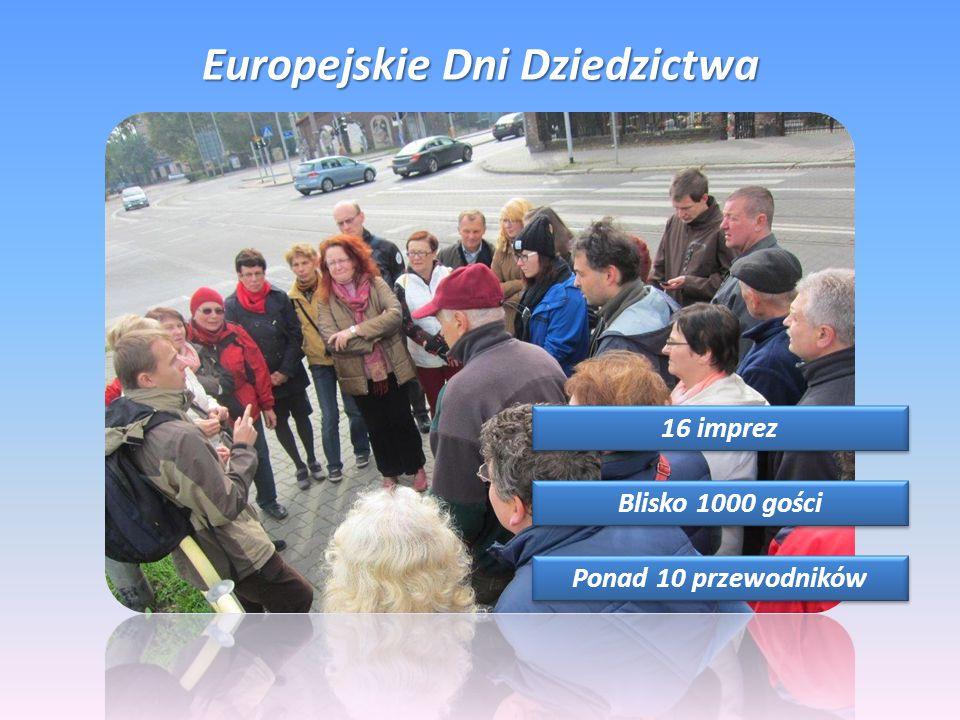 Europejskie Dni Dziedzictwa 16 imprez Blisko 1000 gości Ponad 10 przewodników