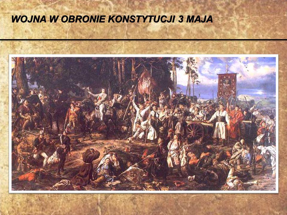 Podczas wojny z Rosją Kościuszko odznaczył się w bitwach pod Dubienką i Zieleńcami. Za to został odznaczony orderem Virtuti Militari. Order Virtuti Mi