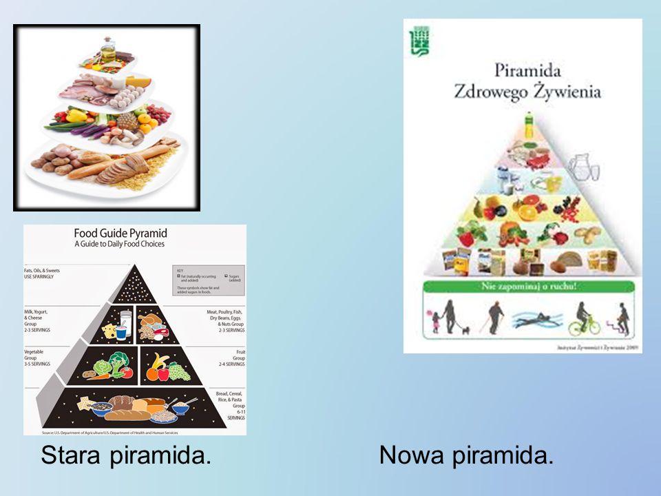 Stara piramida.Nowa piramida.