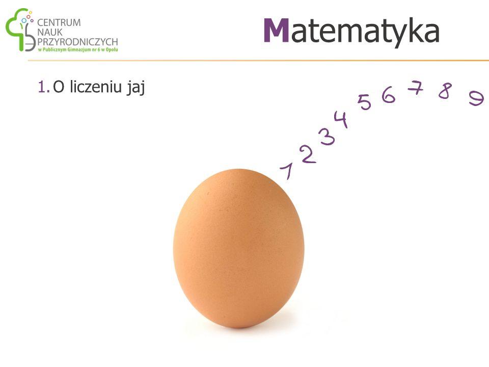 1.O liczeniu jaj Matematyka