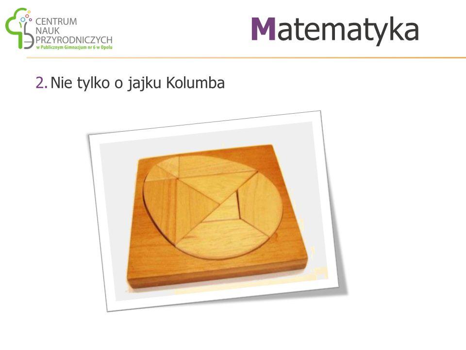 2.Nie tylko o jajku Kolumba Matematyka