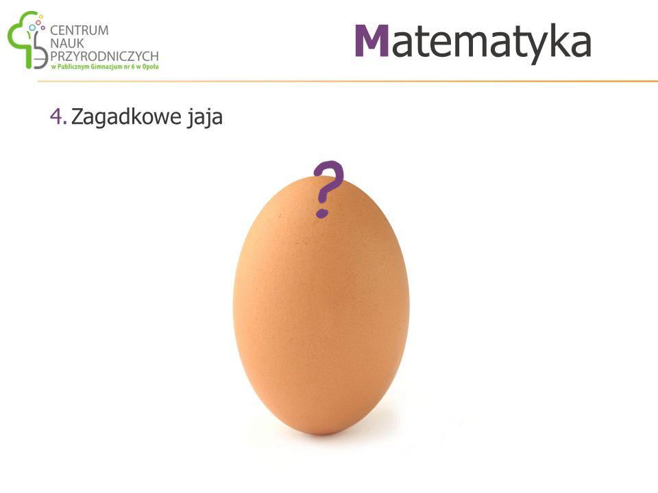 4.Zagadkowe jaja Matematyka