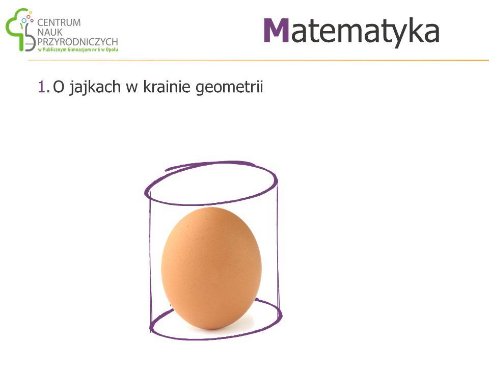 1.O jajkach w krainie geometrii Matematyka