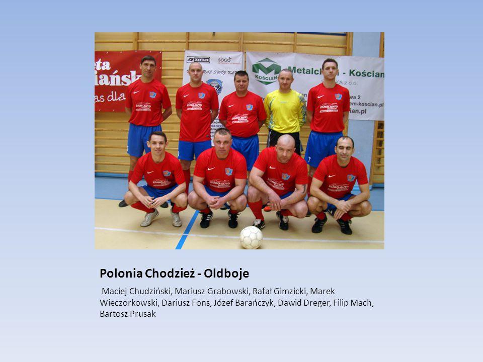 Polonia Chodzież - Oldboje Maciej Chudziński, Mariusz Grabowski, Rafał Gimzicki, Marek Wieczorkowski, Dariusz Fons, Józef Barańczyk, Dawid Dreger, Fil