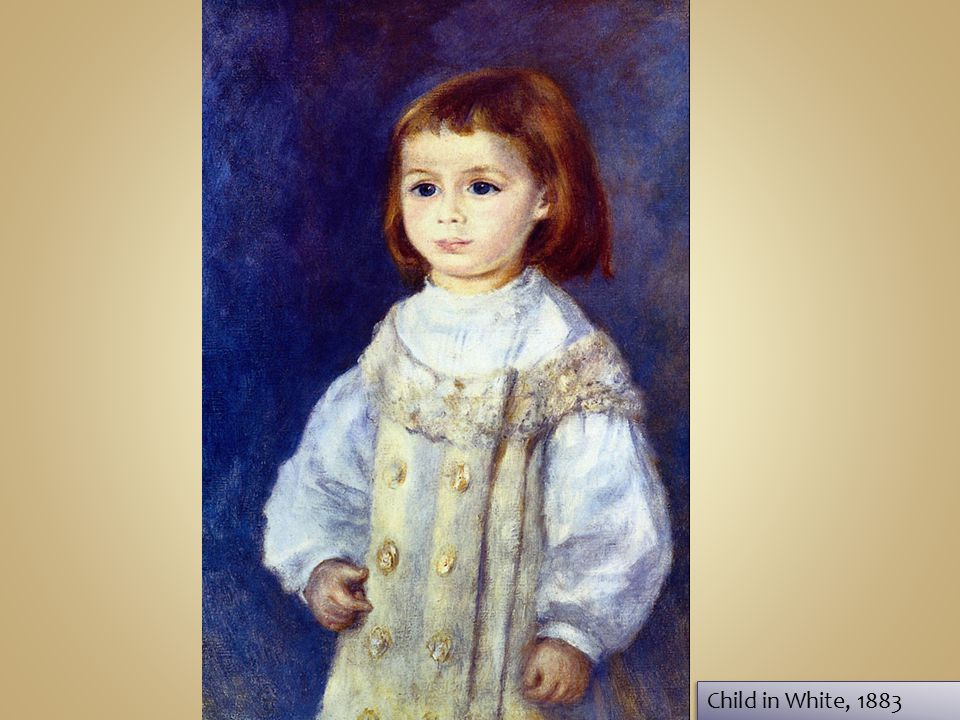 Child in White, 1883 Child in White, 1883