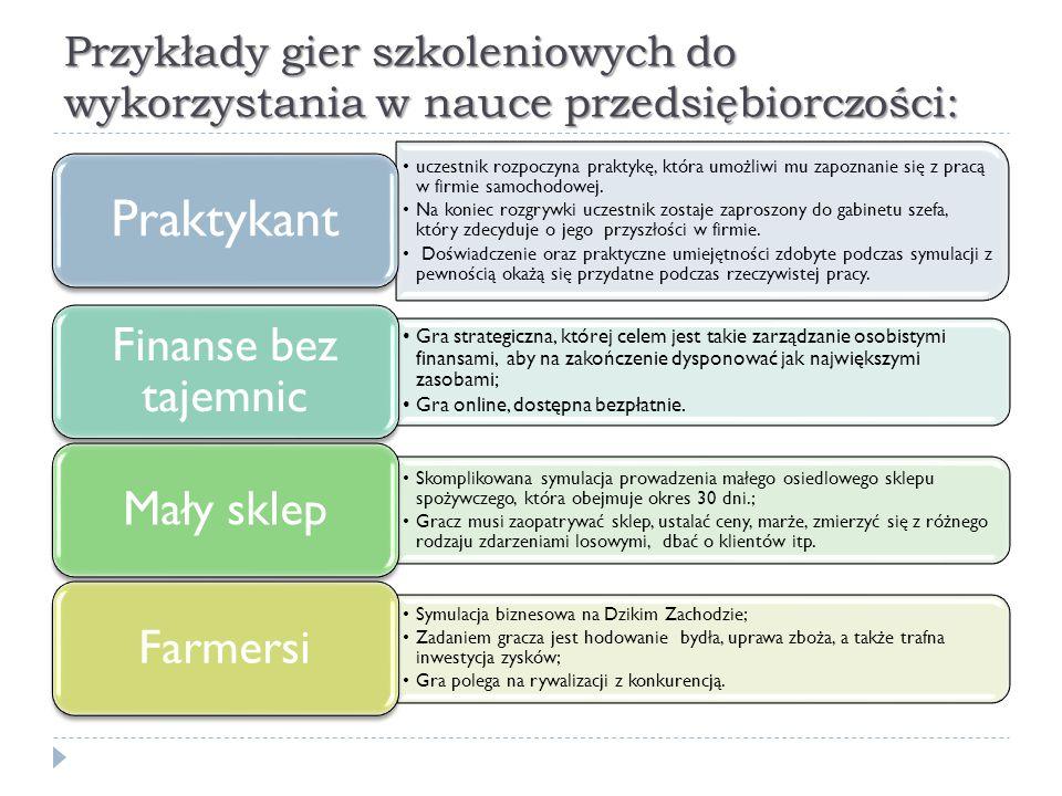 Portal Narodowego Banku Polskiego Świetnym źródłem materiałów edukacyjnych zamieszczonych w Internecie i ogólnodostępnych jest strona www.nbportal.pl.