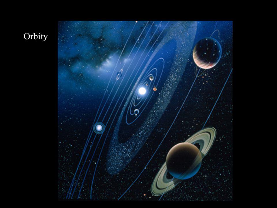 Mars Średnica równikowa: 6787 km Masa: 6,42·10 23 kg Średnia gęstość: 3940 kg/m 3 Średnia odległość od Słońca: 228 mln km (1,524 j.a.) Okres orbitalny: 686,98 dni ziemskich (1,88 roku) Okres rotacji: 1,026 dnia ziemskiego Powierzchnia: bazalty, iły, lód Atmosfera: CO 2 (95%), N (3%), Ar (1,6%) Średnia temperatura na powierzchni: 230 K