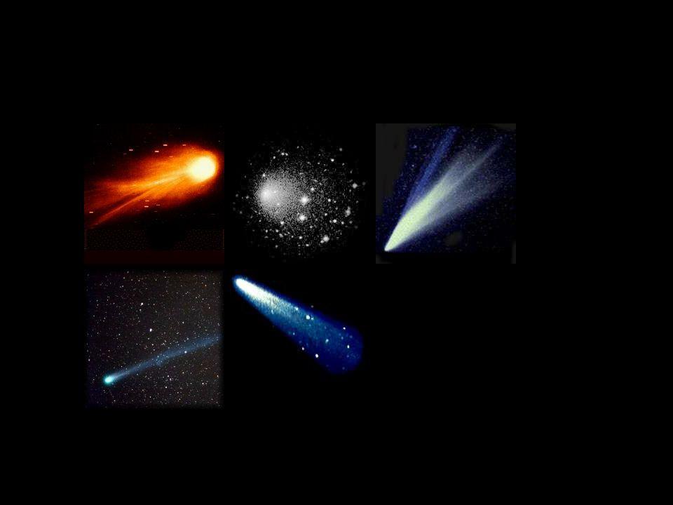 Przykłady komet