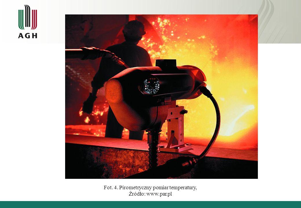 Fot. 4. Pirometryczny pomiar temperatury, Źródło: www.par.pl