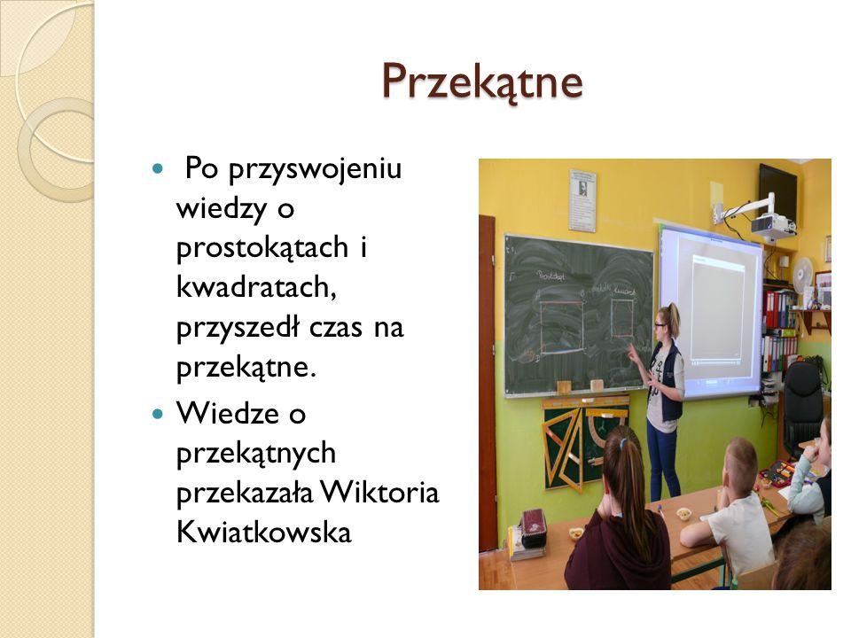Aktywność Uczniów Aktywność Uczniów Uczniowie chętnie odpowiadali na pytania zadawane przez Panią Ewę Kabałę