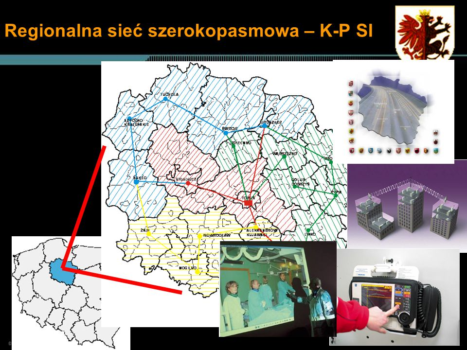 © 2006, Cisco Systems, Inc. All rights reserved. 555 Regionalna sieć szerokopasmowa – K-P SI