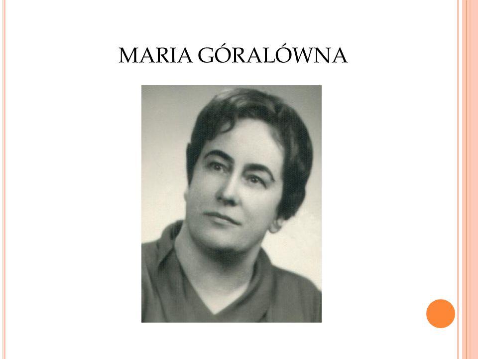 MARIA GÓRALÓWNA