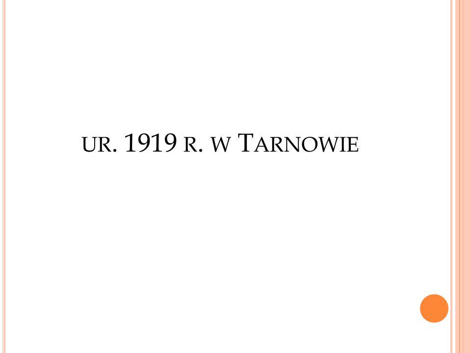UR. 1919 R. W T ARNOWIE