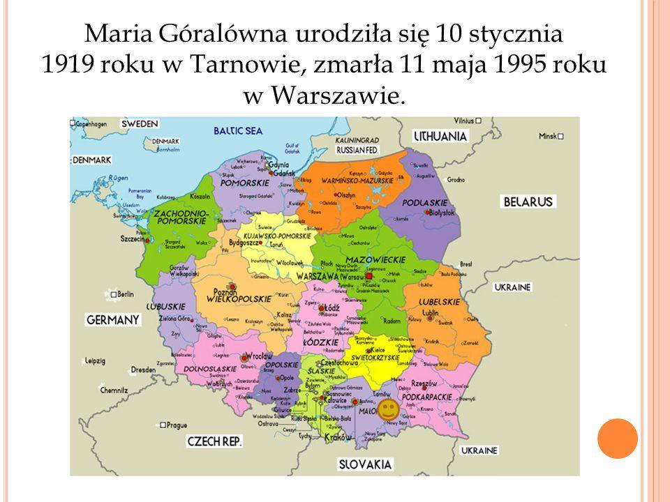 W 1936 roku rozpoczęła studia na Wydziale Lekarskim Uniwersytetu Poznańskiego, które przerwała wojna i okupacja.