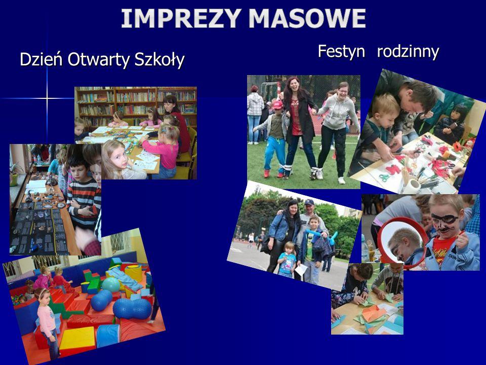 Dzień Otwarty Szkoły Festyn rodzinny