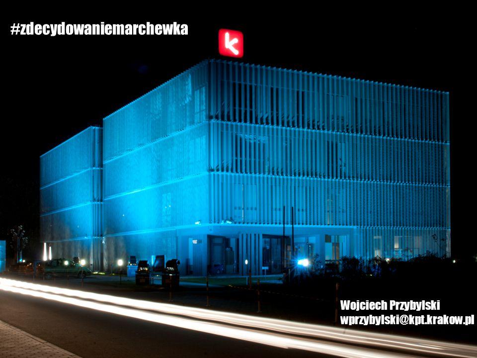 #zdecydowaniemarchewka Wojciech Przybylski wprzybylski@kpt.krakow.pl
