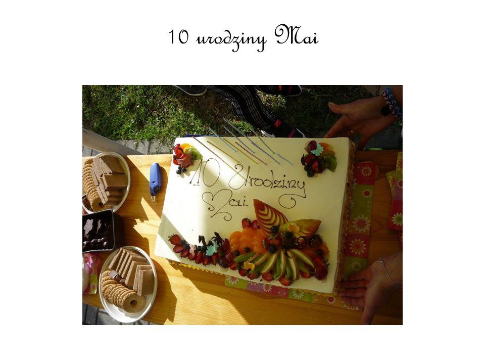 10 urodziny Mai