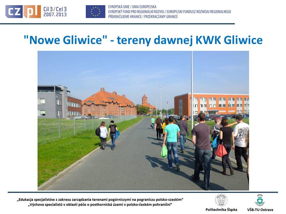 Nowe Gliwice - tereny dawnej KWK Gliwice