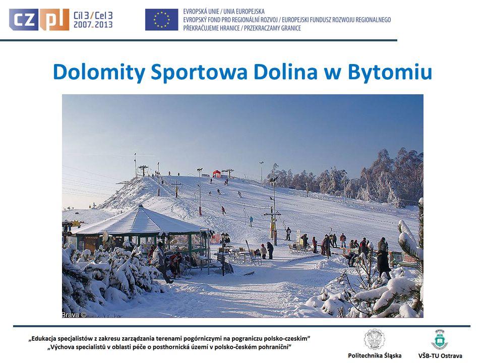 Dolomity Sportowa Dolina w Bytomiu