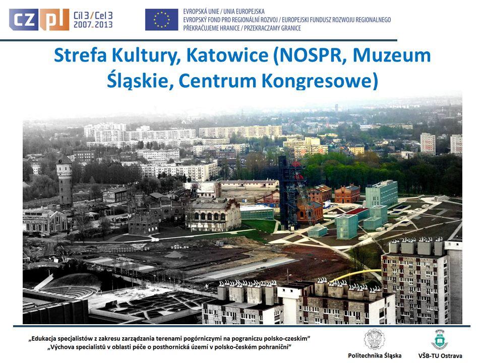Strefa Kultury, Katowice (NOSPR, Muzeum Śląskie, Centrum Kongresowe)