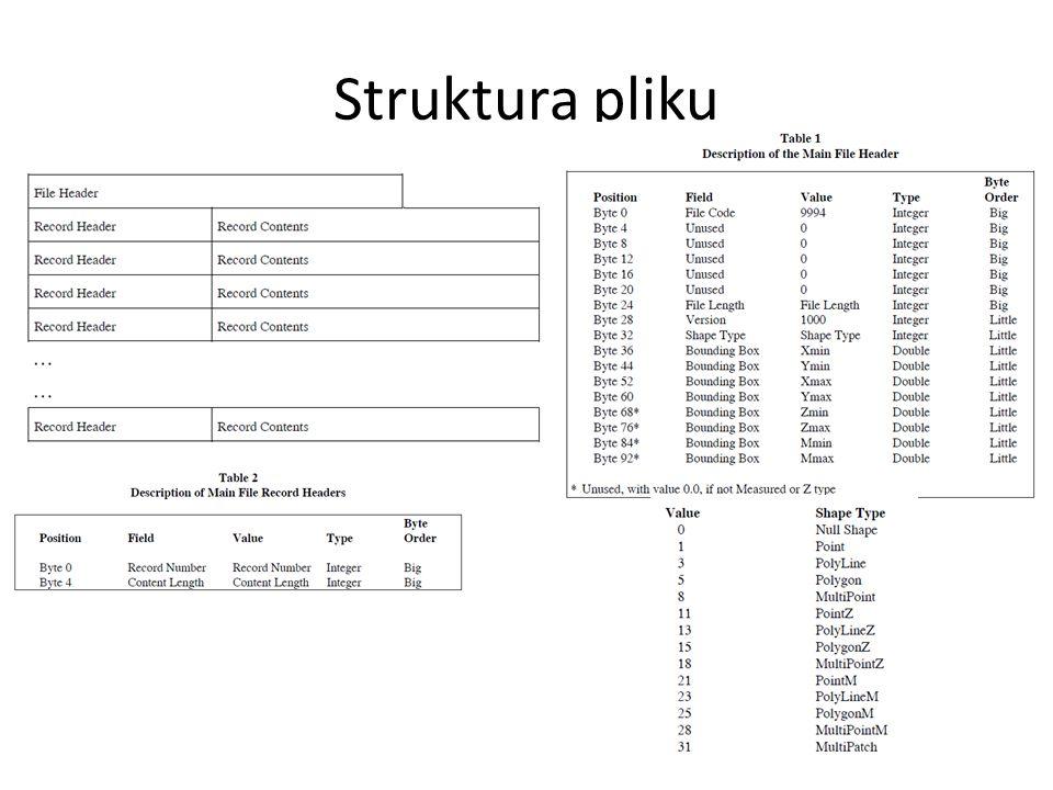 Struktura pliku