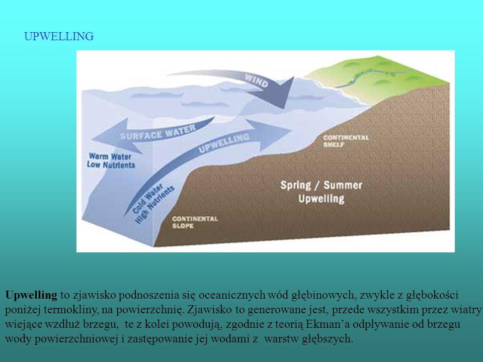 Upwelling to zjawisko podnoszenia się oceanicznych wód głębinowych, zwykle z głębokości poniżej termokliny, na powierzchnię. Zjawisko to generowane je