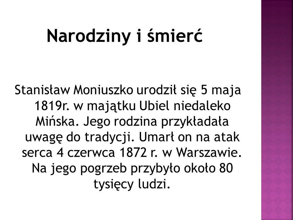Rodzice  Czesław Moniuszko  Elżbieta Madżarska Żona:  Aleksandra Müller