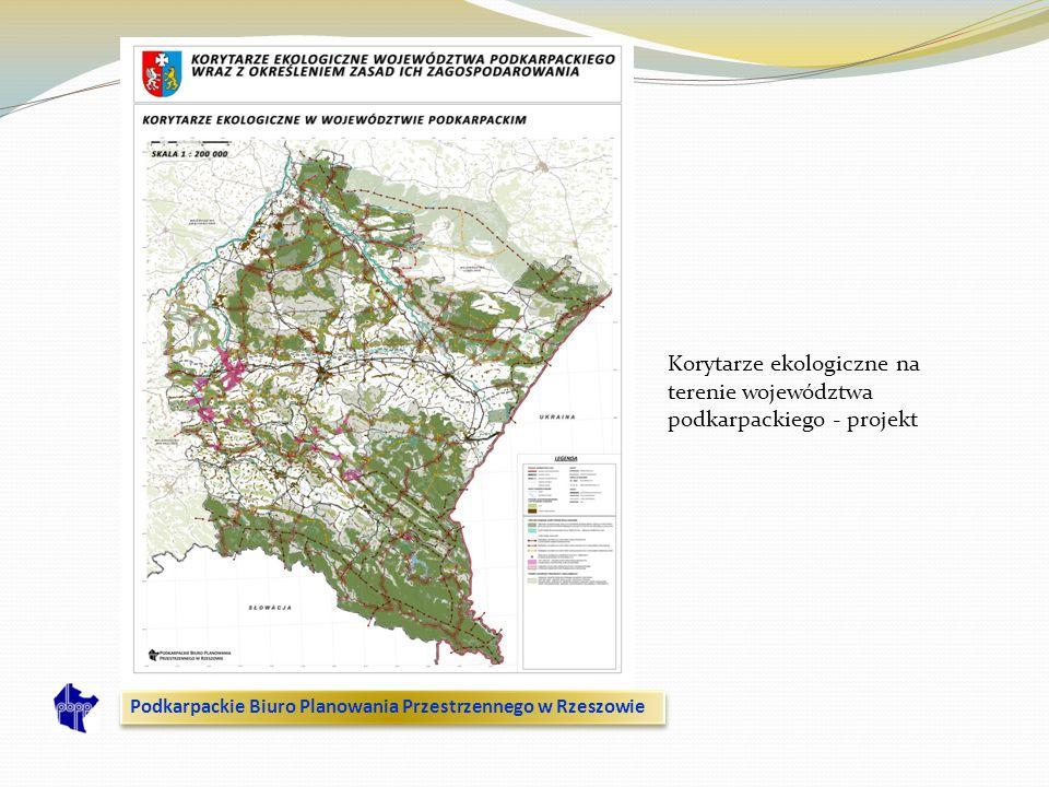 Korytarze ekologiczne na terenie województwa podkarpackiego - projekt