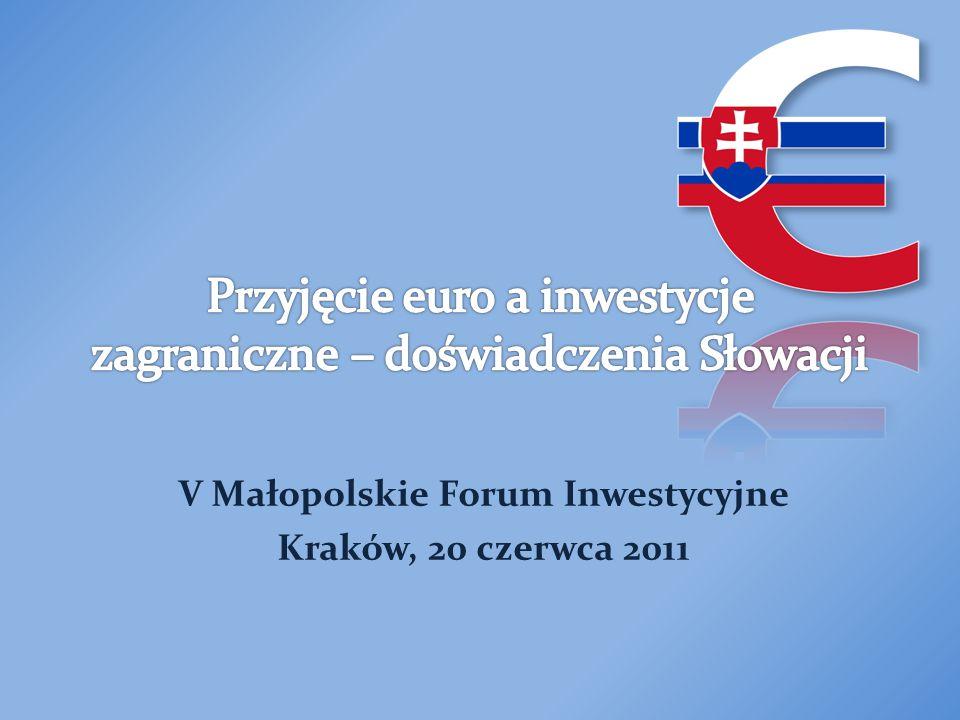 Istniała polityczna zgoda Była na czas przygotowana Była konsekwentna w planowaniu oraz realizacji zadań Wszyscy byli dobrze poinformowani Banki oraz małe przedsiębiorstwa zachowały się odpowiedzialnie Słowacja podjęła odpowiednie kroki przy stabilizacji cen Nie wprowadzano podwyżek