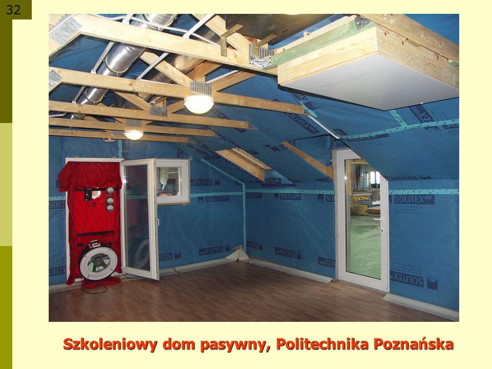 32 Szkoleniowy dom pasywny, Politechnika Poznańska