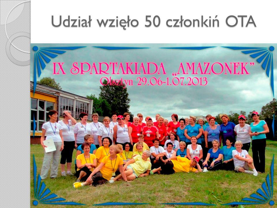 Udział wzięło 50 członkiń OTA