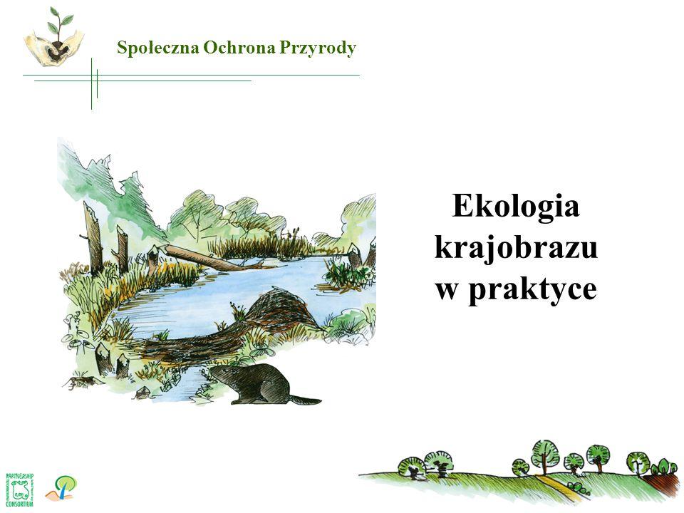 Ekologia krajobrazu w praktyce Społeczna Ochrona Przyrody