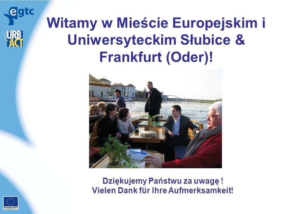 Witamy w Mieście Europejskim i Uniwersyteckim Słubice & Frankfurt (Oder).