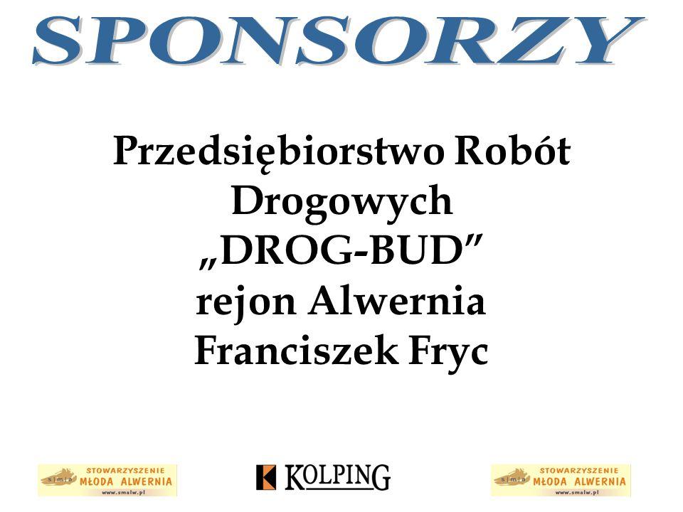 """Przedsiębiorstwo Robót Drogowych """"DROG-BUD"""" rejon Alwernia Franciszek Fryc"""