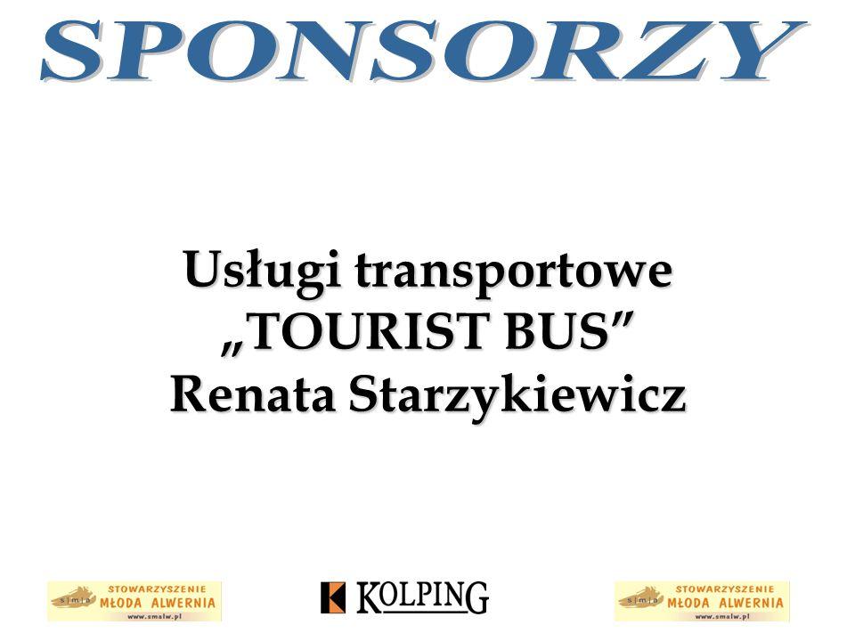 """Usługi transportowe """"TOURIST BUS"""" Renata Starzykiewicz"""