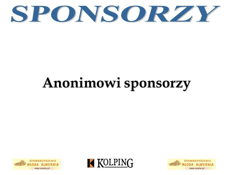 Anonimowi sponsorzy