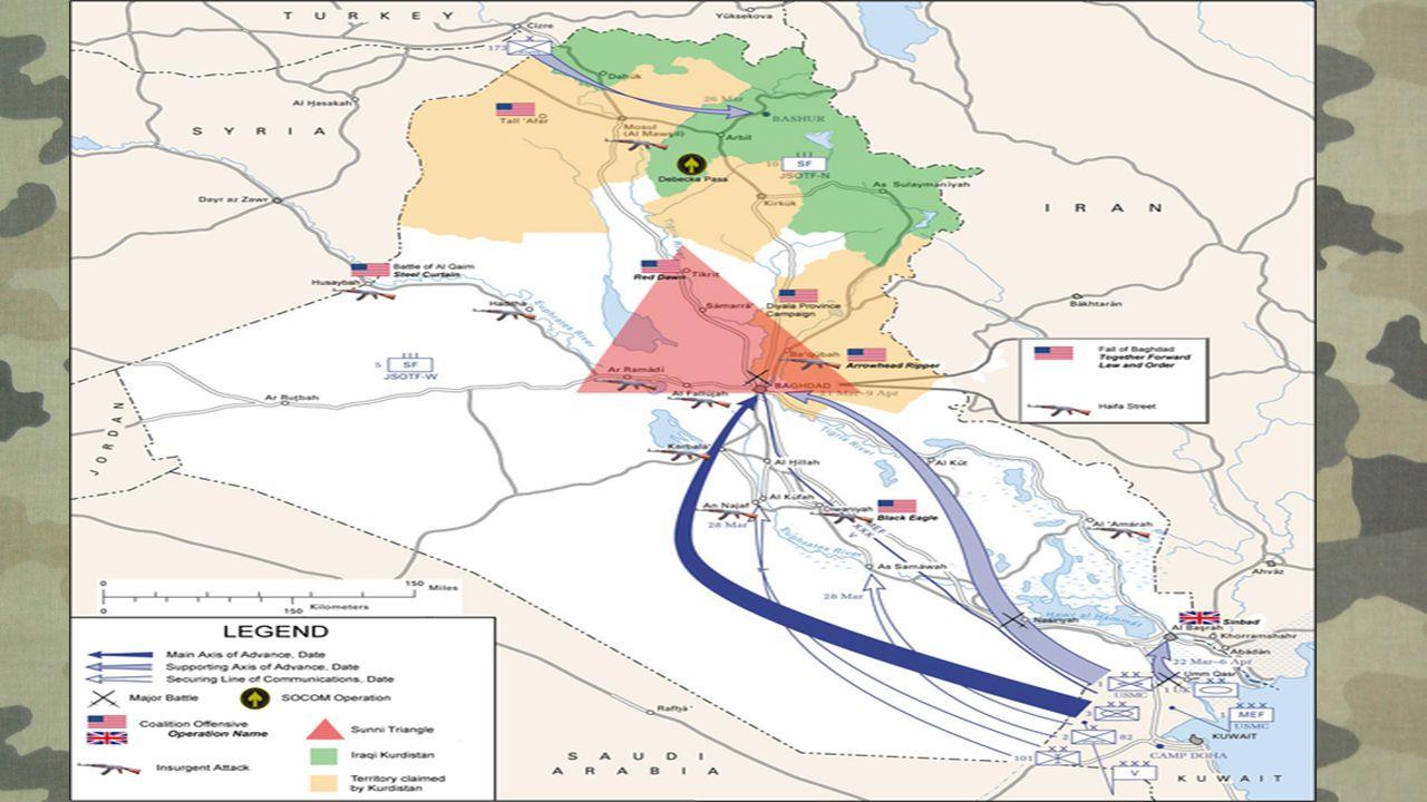 Druga wojna w Zatoce Perskiej Konflikt zbrojny, który rozpoczął się 20 marca 2003 między koalicją sił międzynarodowych (głównie USA i Wielkiej Brytani