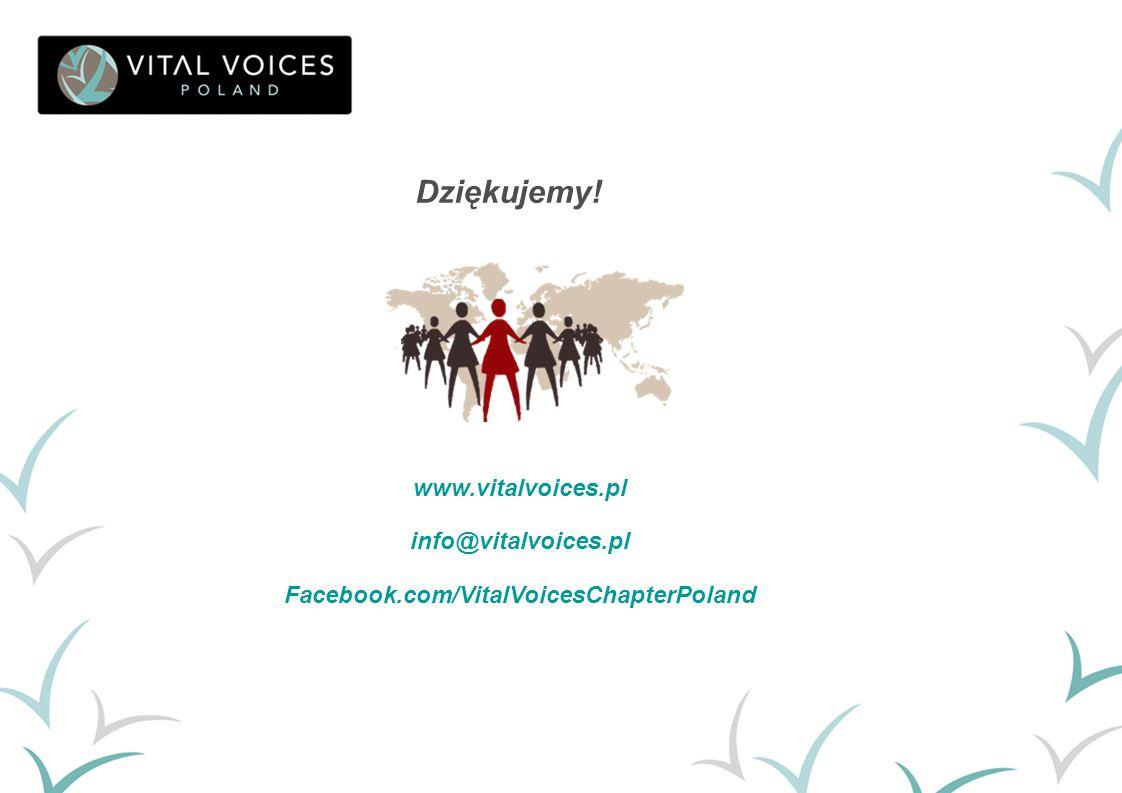 Dziękujemy! www.vitalvoices.pl info@vitalvoices.pl Facebook.com/VitalVoicesChapterPoland