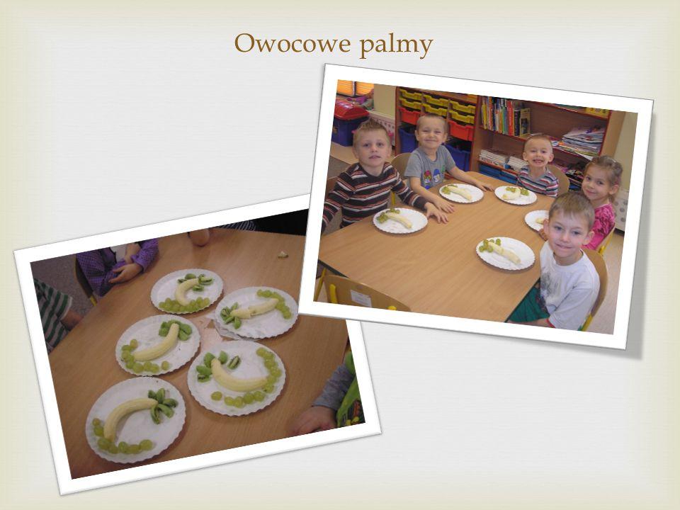 Owocowe palmy