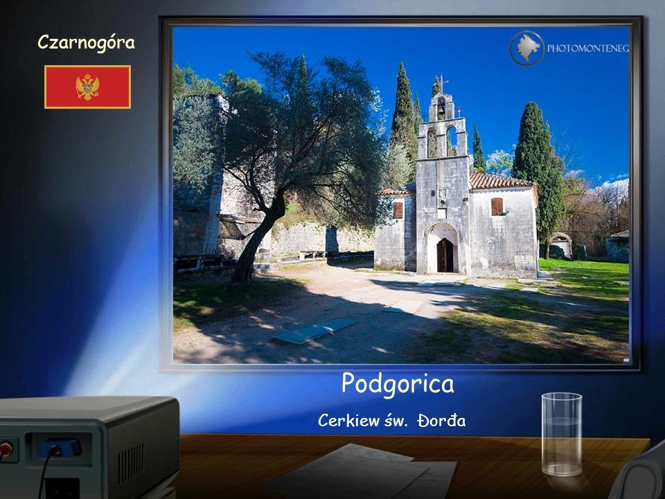 Czarnogóra Podgorica Sobór Zmartwychwstania Pańskiego