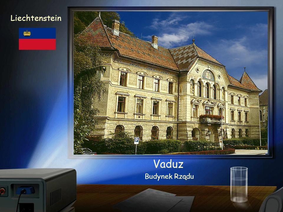 Vaduz Liechtenstein Zamek z XII w.