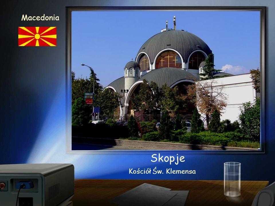Skopje Macedonia Panorama