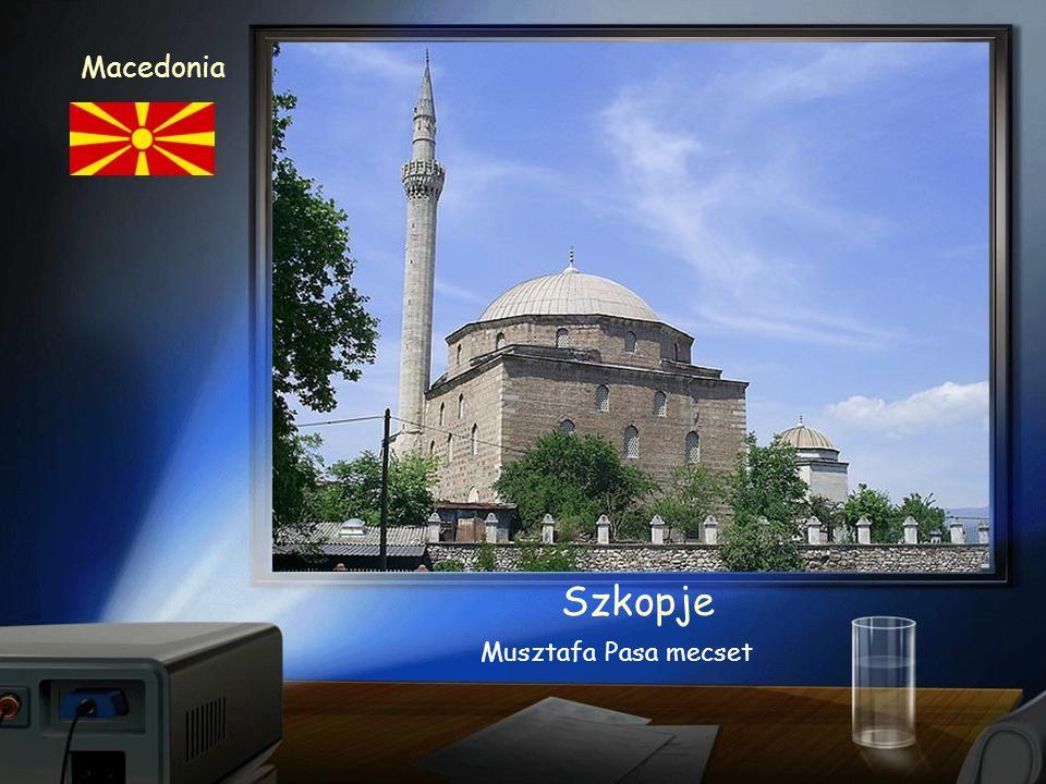 Skopje Macedonia Kościół Św. Klemensa