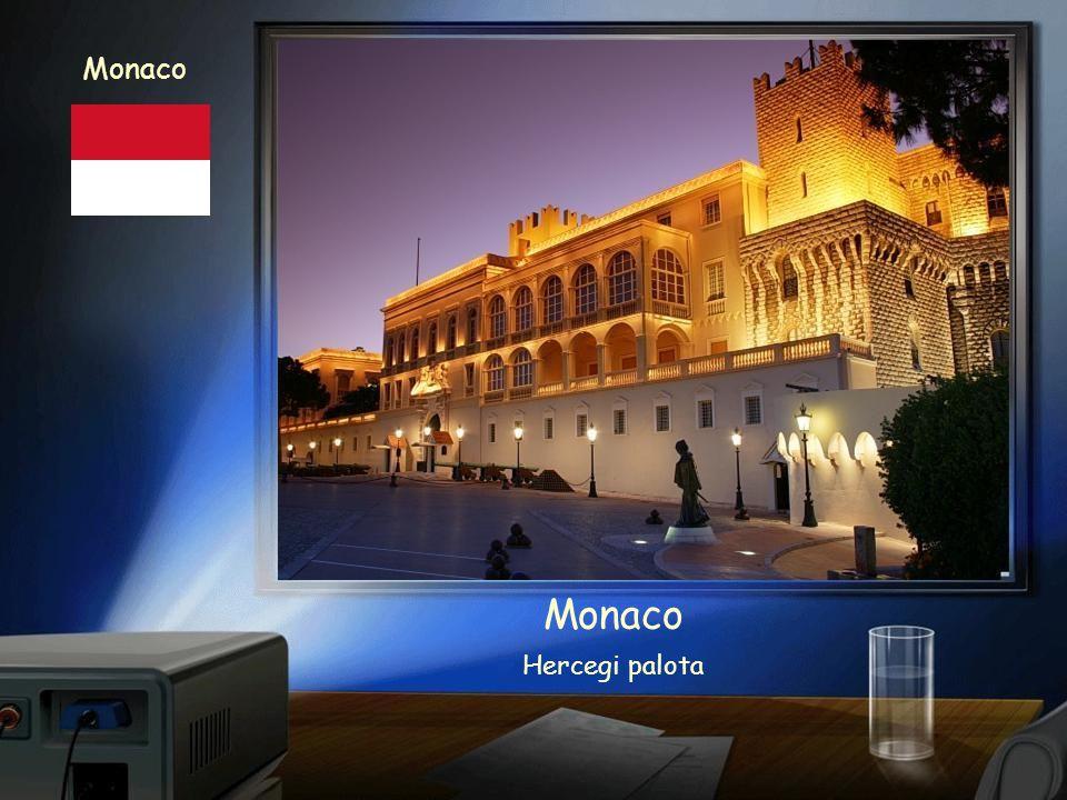 Monaco Monte Carlo- Kaszinó