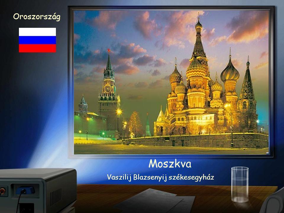 Oroszország Moszkva Vörös tér