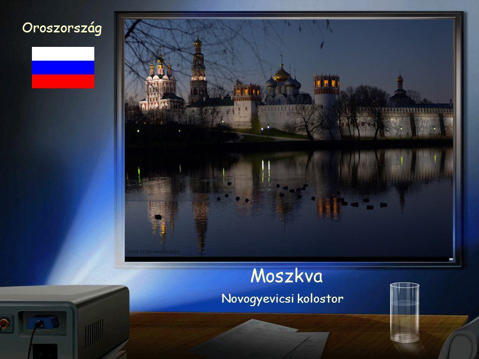 Oroszország Moszkva Vaszilij Blazsenyij székesegyház