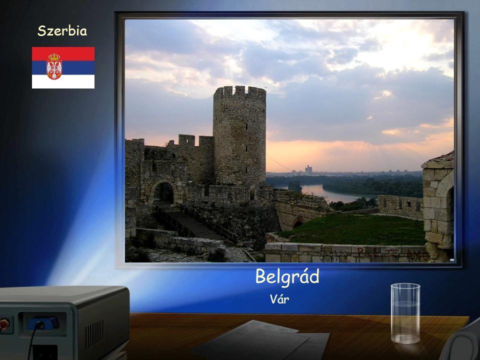 Szerbia Belgrád Bulvár