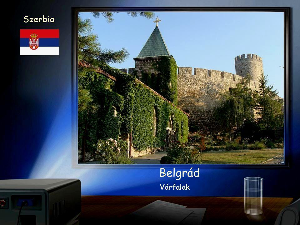 Szerbia Belgrád Vár